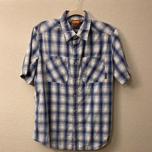 Merrell Short Sleeve Button Down Shi…
